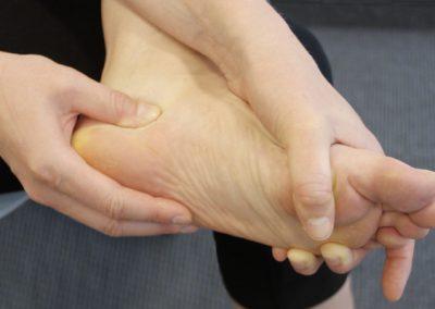 Postoperative Übungen für den Fuß
